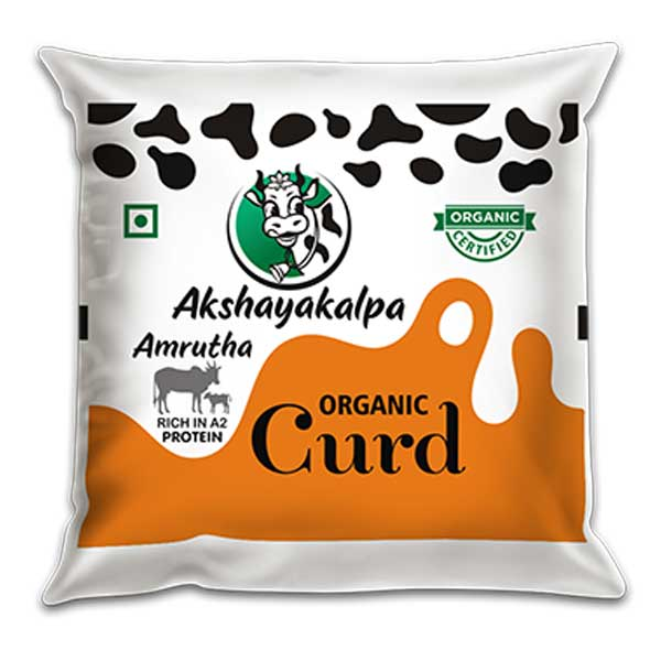 akshayakalpa A2 Organic Curd - 500g