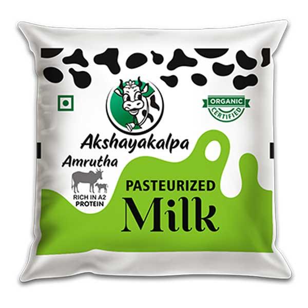 akshayakalpa A2 Pasteurized Milk - 500ml
