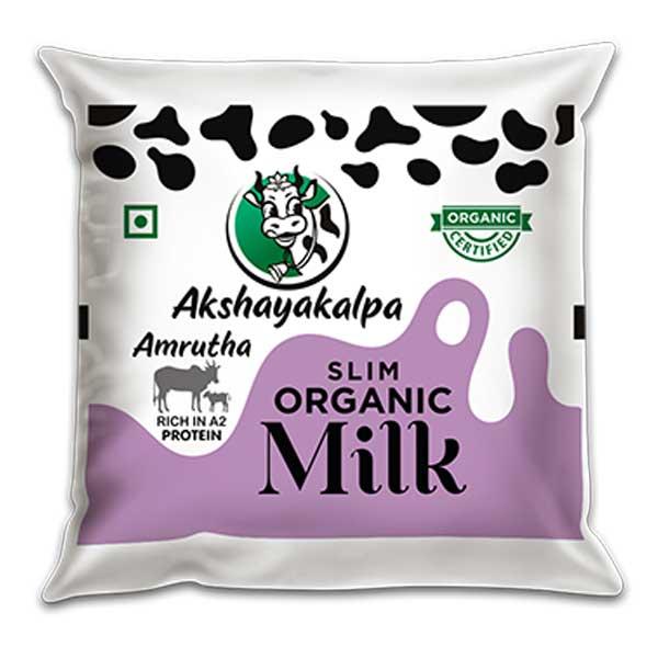 akshayakalpa A2 Slim Milk - 500ml