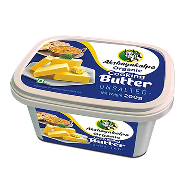Organic Cooking Butter - 200g