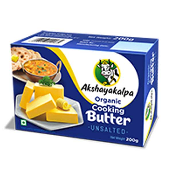 akshayakalpa Organic Cooking Butter - 200g