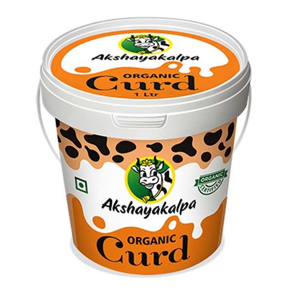 akshayakalpa Organic Curd - 1kg