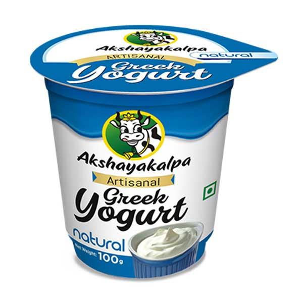 Organic Greek Yogurt - 100g
