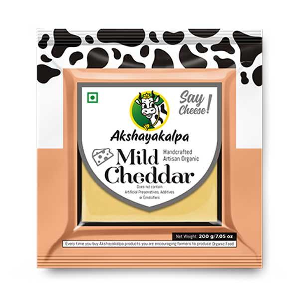 Organic Mild Cheddar - 200g