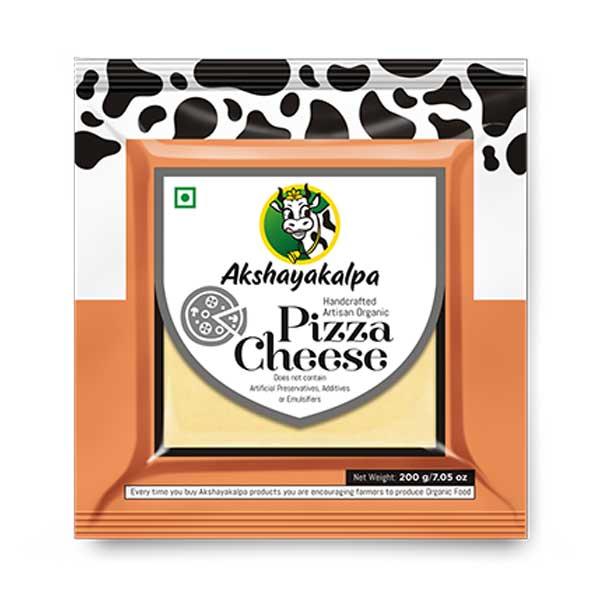 Organic Pizza Cheese - 200g