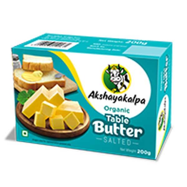 akshayakalpa Organic Table Butter - 200g